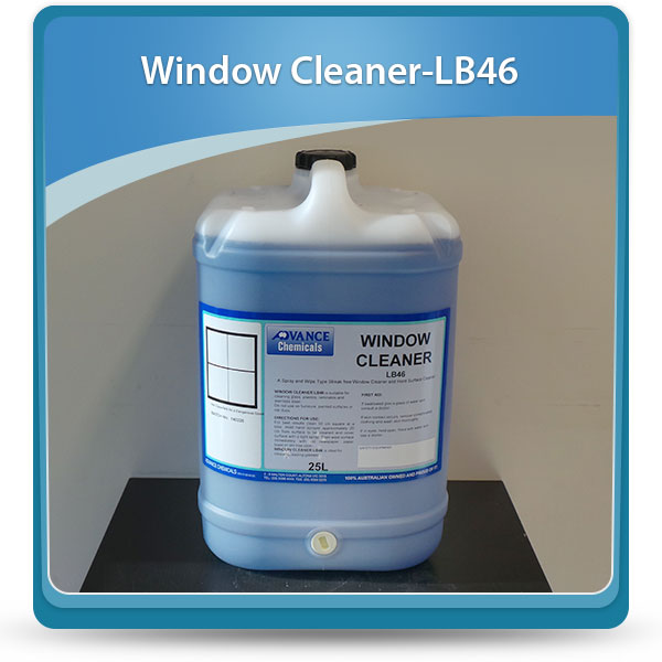 Window Cleaner - Advance Chemicals